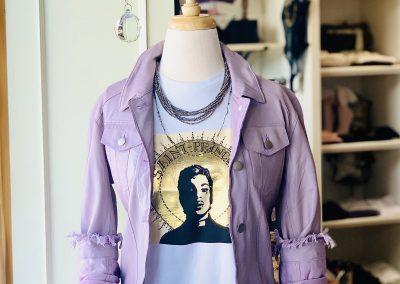 Alexa Lavender Jacket